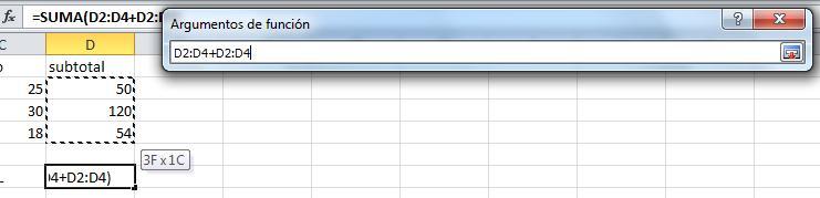 Principales funciones de Excel20