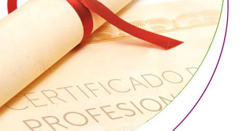 Para Certificados Profesionales